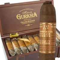 Gurkha Cellar Reserve 18 Year Edicion Especial Hedonism (6x58 / Box 20)  + FREE Gurkha Trinity Coffin 3-pack!!