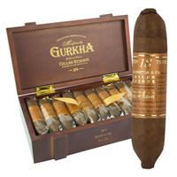 Gurkha Cellar Reserve 18 Year Edicion Especial Koi (4x58 / Box 20)  + FREE Gurkha Trinity Coffin 3-pack!!