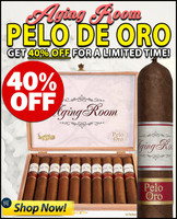Aging Room Pelo De Oro (5.5x55 / Box of 10) + 40% OFF DISCOUNT!