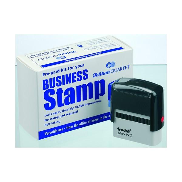 Trodat 4912 Business Stamp Kit 17 X 47Mm