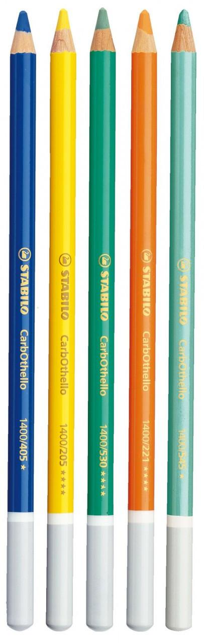 STABILO CarbOthello Pencils Loose Emerald Green (Box 12)