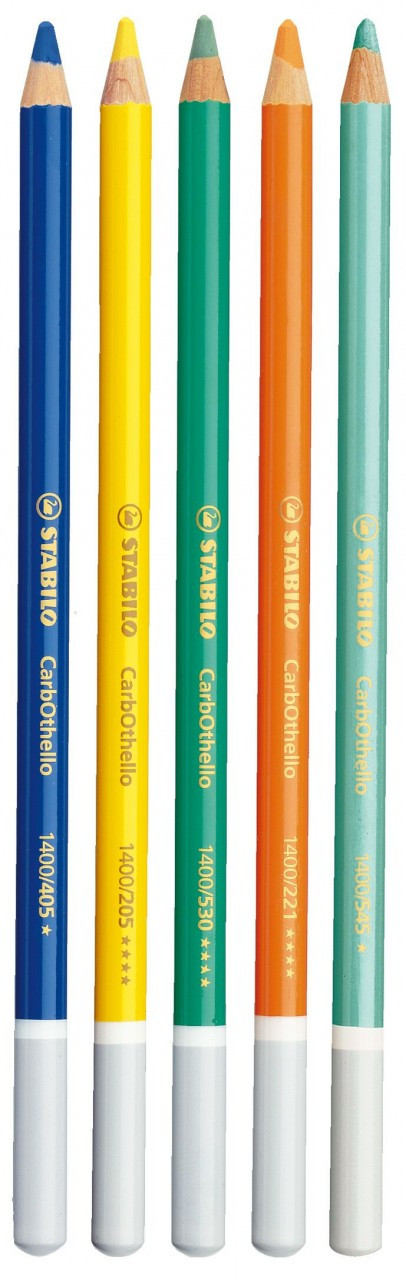STABILO CarbOthello Pencils Loose Vermillion Red Tone (Box 12)