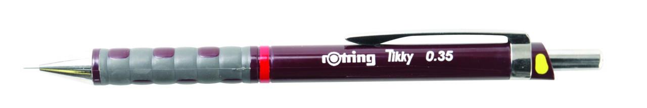 Rotring Tikky Mechanical Pencil Burgundy 1.0mm Pencil (Pencil x 12 Units)