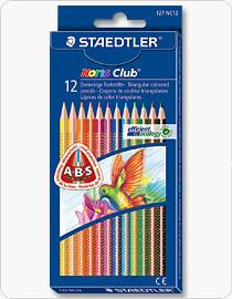 Staedtler® Noris Club® Triangular Coloured Pencils Assorted 12's (10 Boxes)