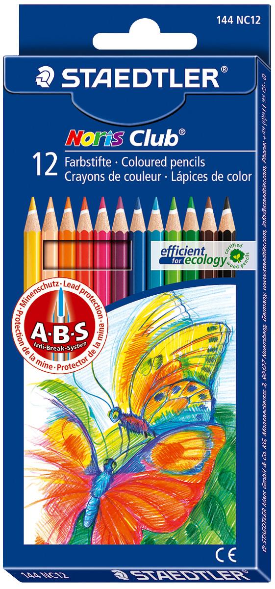 Staedtler® Noris Club® Aquarell Watercolour Pencils Assorted 12's (10 Boxes)