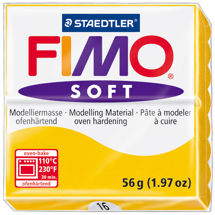 FIMO® Soft Oven-Hardening Modelling Clay - 56g Standard Blocks (1 Piece)