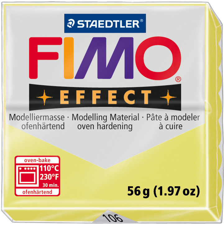 FIMO® Effect Oven-Hardening Modelling Clay - Gemstone Colours (1 Piece)
