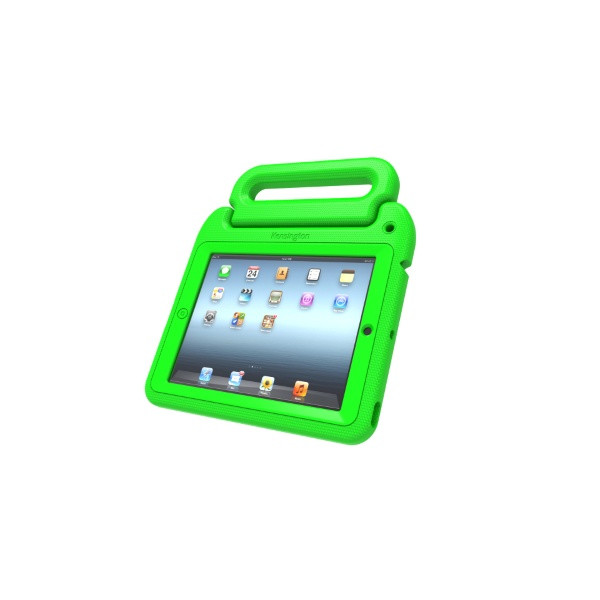 Kensington SafeGrip Rugged Carry Case & Stand for iPad Mini - Green