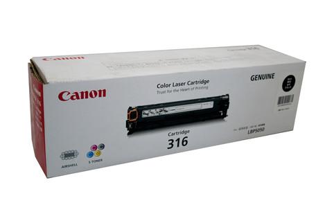 Canon CART316 Black Toner 2500 Pages Black