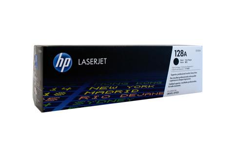 HP #128A Black Toner CE320A 2000 Pages Black