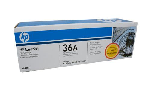 HP #36A Black Toner CB436A 2000 Pages Black