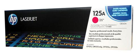 HP #125A Magenta Toner CB543A 1400 Pages Magenta