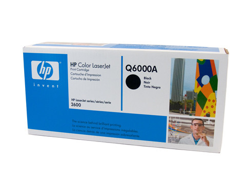HP #124A Black Toner Q6000A 2500 Pages Black