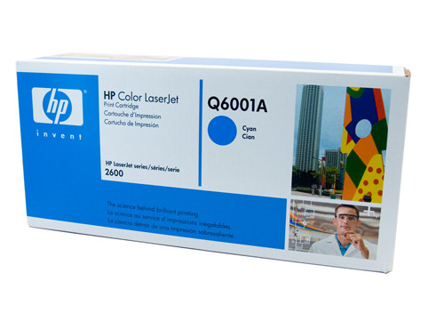 HP #124A Cyan Toner Q6001A 2000 Pages Cyan