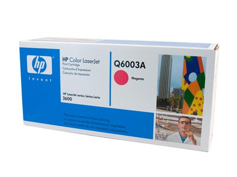 HP #124A Magenta Toner Q6003A 2000 Pages Magenta