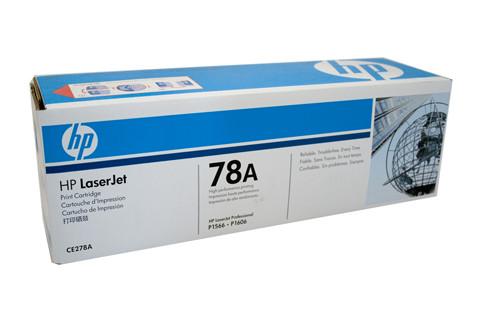 HP #78A Black Toner CE278A 2100 Pages Black