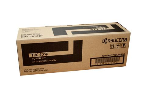 Kyocera TK174 Black Toner Kit 7200 Pages at 5% Black