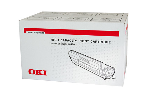 Oki B6300 Black Toner Cart 17000 Pages Black