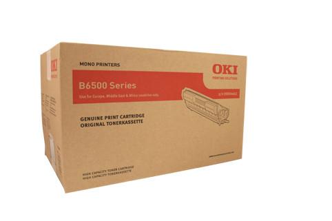 Oki B6500 Black Toner Cart 17000 Pages Black
