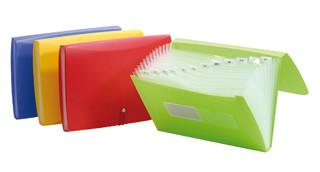 Beautone Tropical Expanding File 13 Pocket A4 (Each)