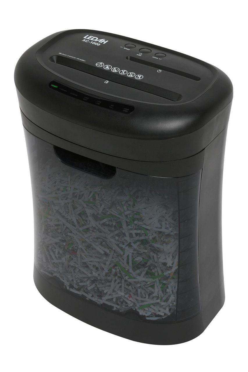 Ledah Style Series Xc1000 Cross-Cut Shredder (Each)