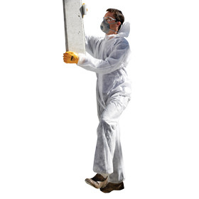 Disposable Coveralls, White