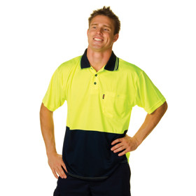 Two Tone HiVis Daytime Safety Shirt - Mens (3811)
