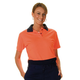 Two Tone HiVis Daytime Safety Shirt - Ladies (3897)