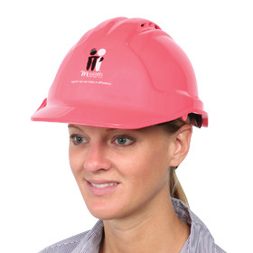 Hard Hat, Vented, Pink (MGPHHV)