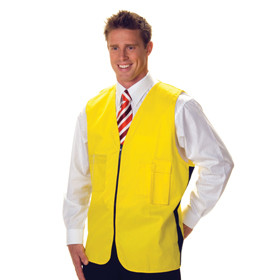 HiVis Safety Vest, Cotton, Day Use (3808)