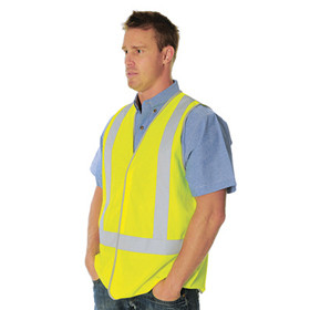 HiVis Safety Vest, Day/Night Use, Cross Back