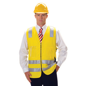 HiVis Safety Vest, Day/Night Use (3809)