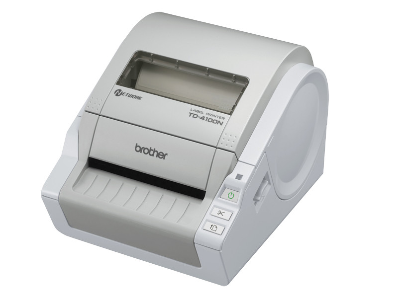 Desktop Barcode and Label Printer w/ USB, Serial & Ethernet Interfaces