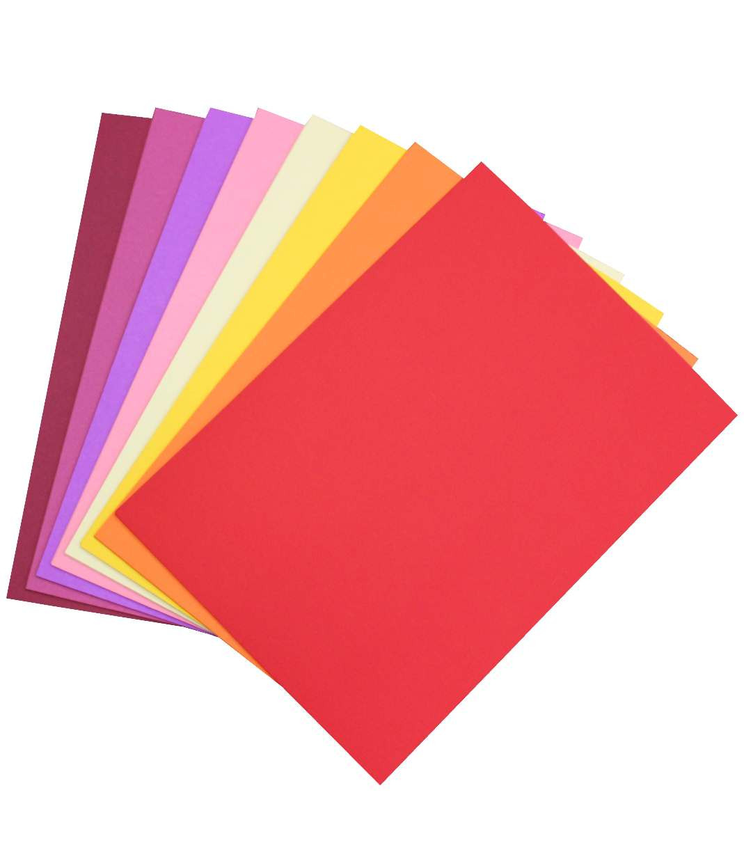 Colourboard 200GSM A4 Assorted Warm Tones (Pack of 50)
