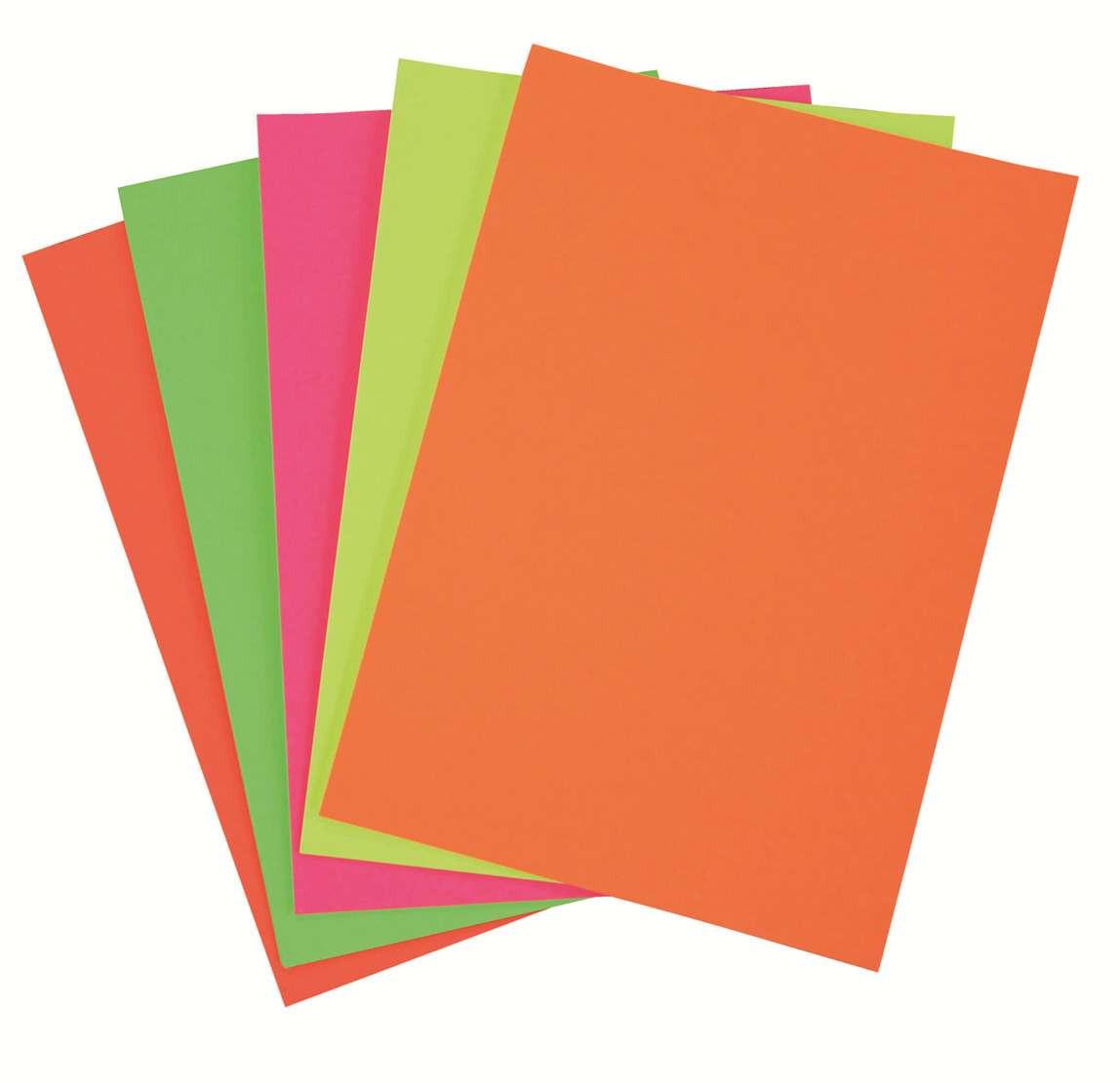 Fluroboard 250GSM 508X635 Assorted Colours (PK50)