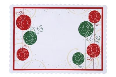 Tork Celebrations Christmas Traymat   1000 Pieces/Case (10 Packs)
