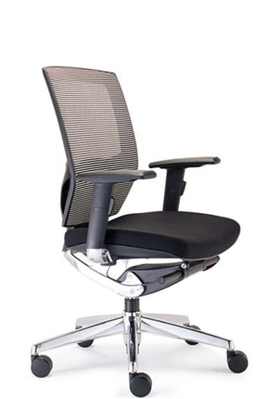 YS0207M Vegas Medium Back Executive Chair - Black