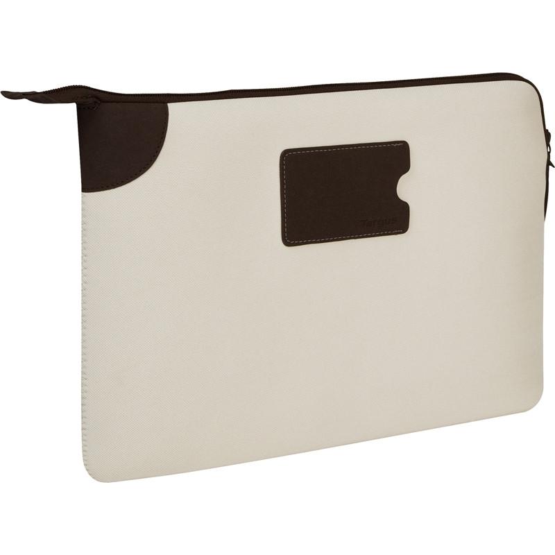 "Targus 11.6"" Banker Sleeve for MacBook® Air and Ultrabooks (Bone White)"