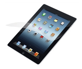Targus Screen Protector with Bubble-Free Adhesive for Apple® iPad® 2, 3/4th Gen