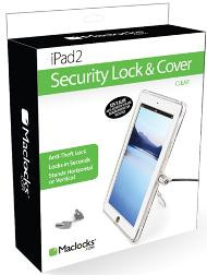 Maclocks iPad Lock & Cover Security Bundle - Clear