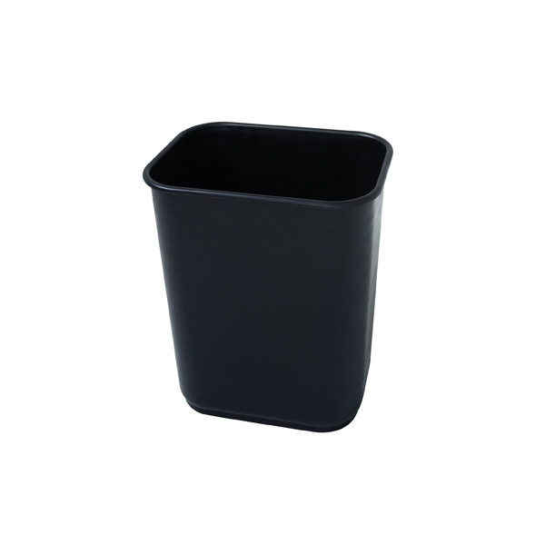 JASTEK RECTANGULAR WASTE BIN 12L BLACK