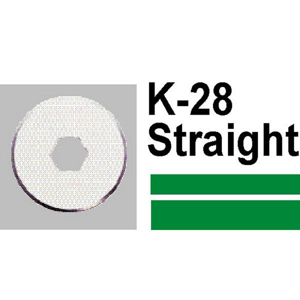 CARL K28 SPARE BLADE STRAIGHT