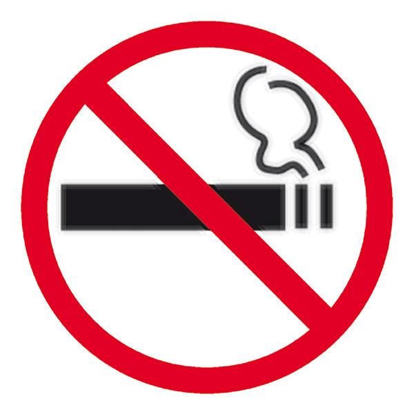APLI NO SMOKING SELF ADHESIVE SIGN PK1