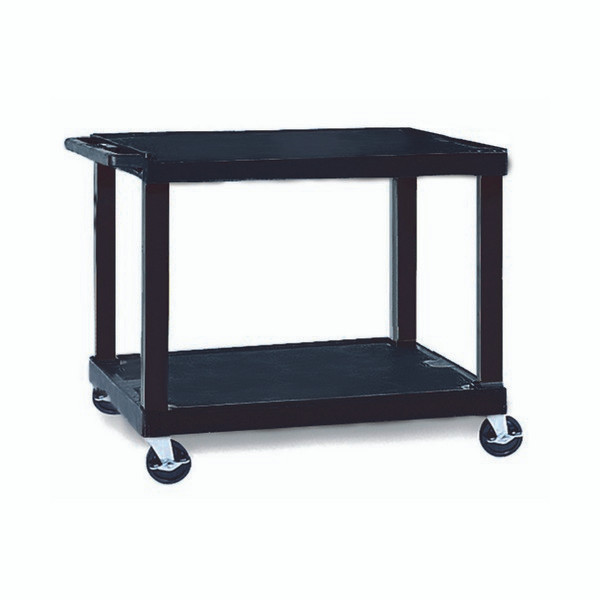 TUFFY HEAVY DUTY TROLLEY 2 SHELF 86CM