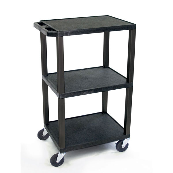 TUFFY UTILITY TROLLEY 3 SHELF 107CM