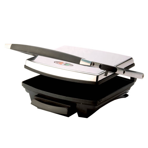 Nero Sandwich Press 748031, 4 Slice Stainless Steel (Ctn4)