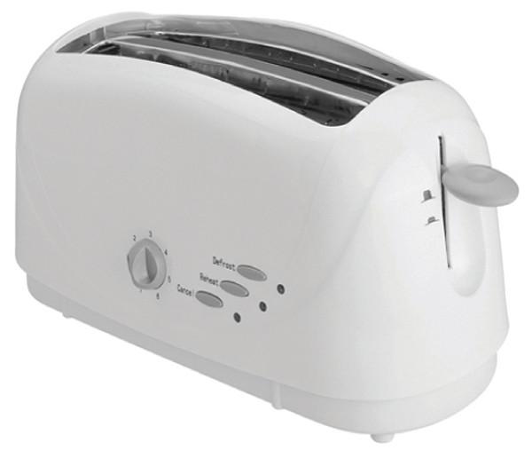 Nero Toaster 746061, 4 Slice White (Ctn6)