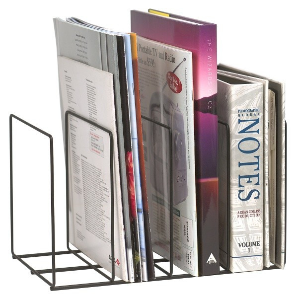 Marbig Wire Instyle Book/Magazine Rack (By Carton - See Desc.)