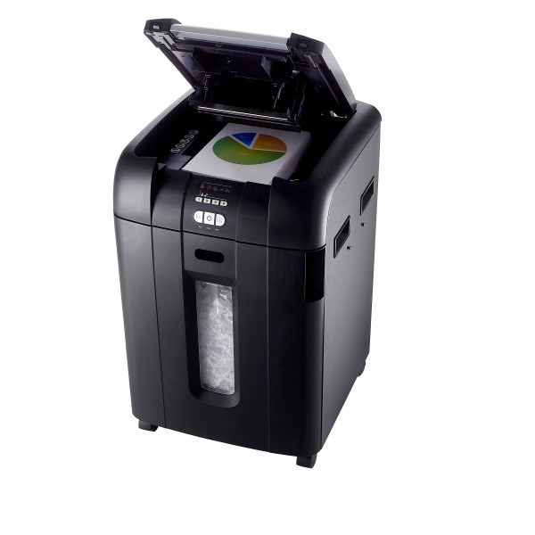 Rexel Stack & Shred Auto+500X Departmental Shredder