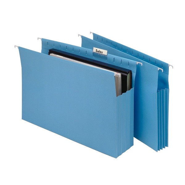 Marbig Expanding Suspension Files with Tabs & Inserts (20 Pcs)